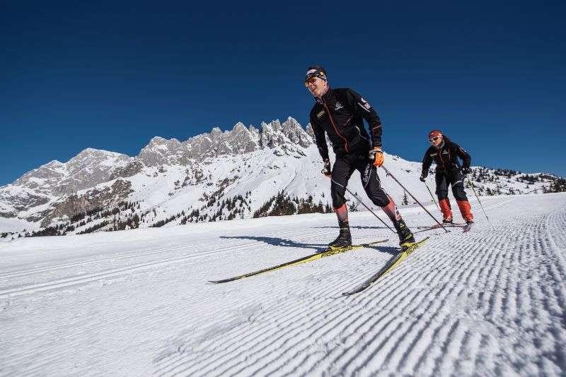 Cross Country skiing, Hochkoenig