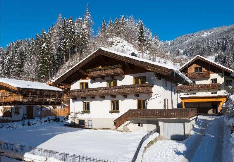 Haus Schneeberg in Winter, Muehlbach am Hochkoeing