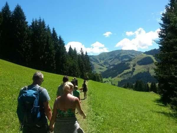 Hiking in the Hochkönig