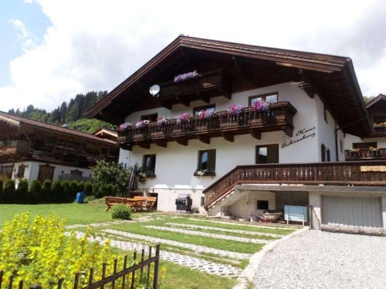 Haus Schneeberg in summer