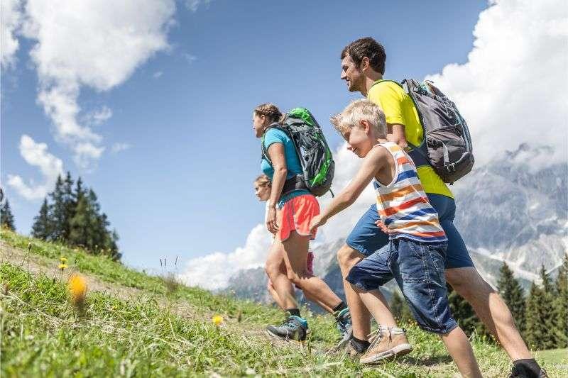 familien-wandern Hochkoenig
