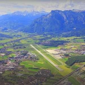 Salzburg Airport view