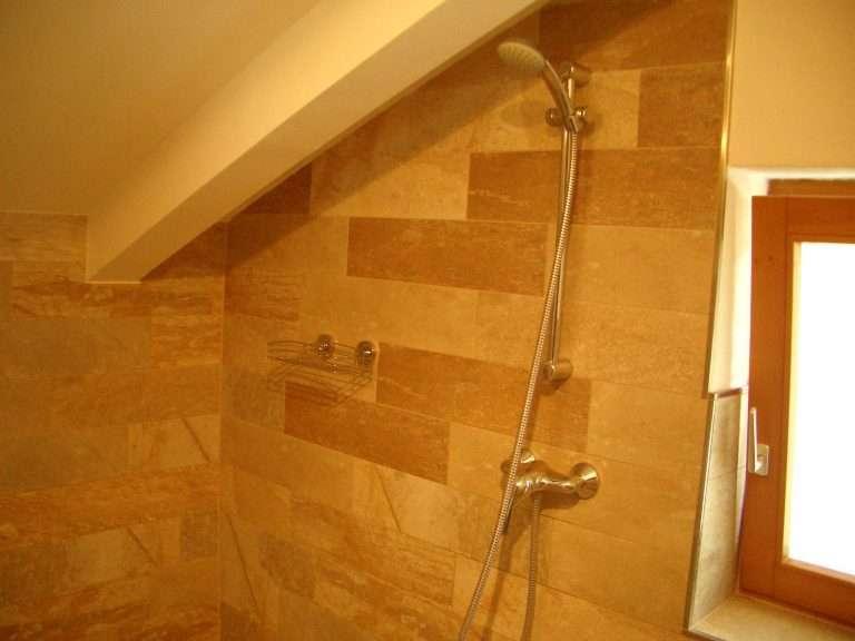 Selbhorn shower wet room Haus Schneeberg