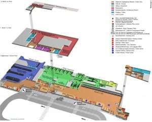 Salzburg Airport terminal 1