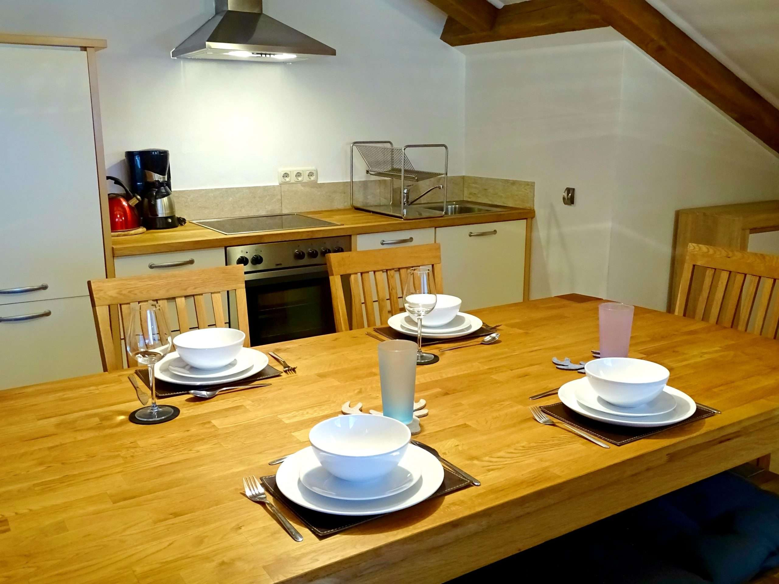 Selbhorn dining table Haus Schneeberg