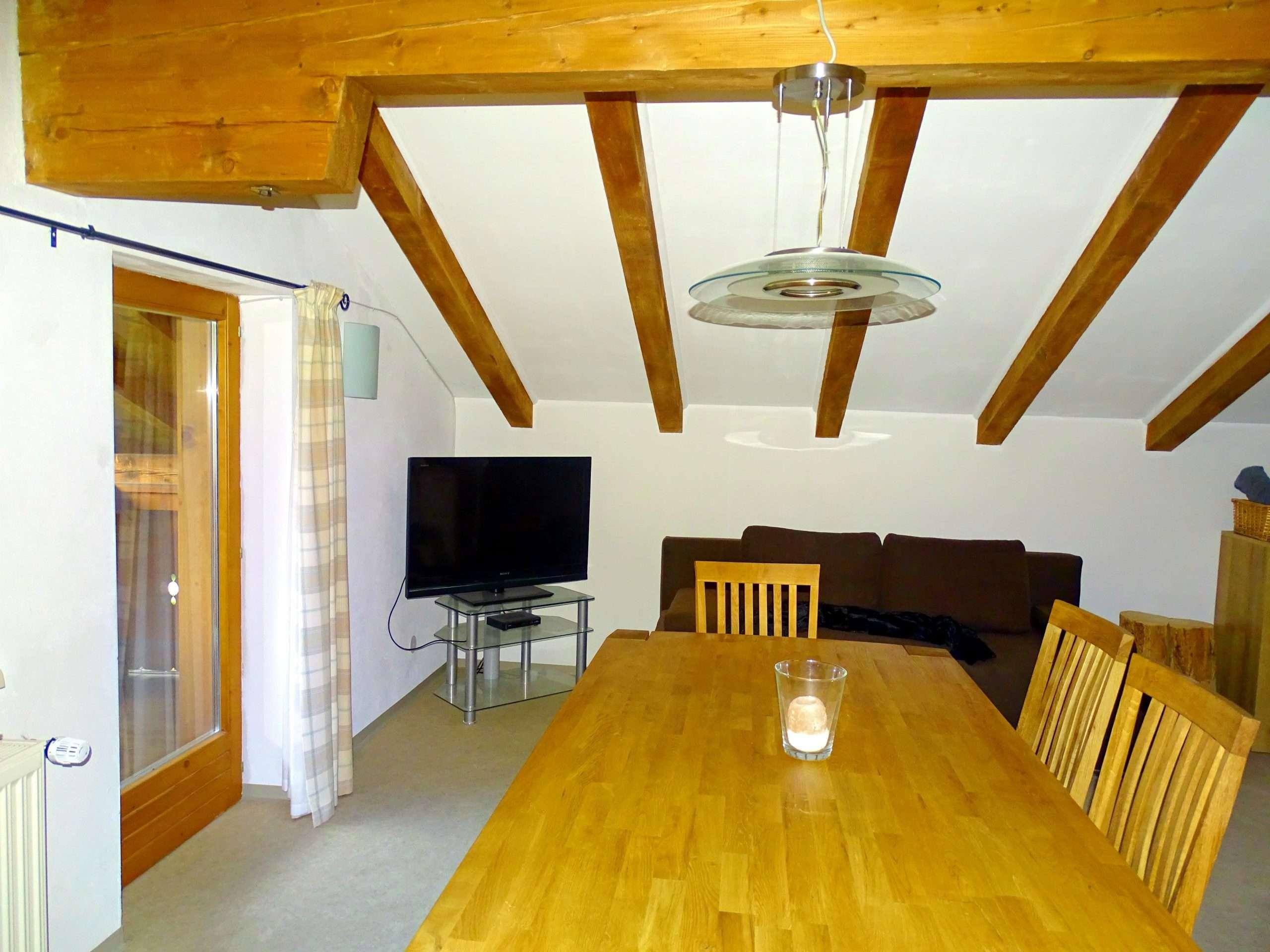Living room, Selbhorn apartment, Haus Schneeberg