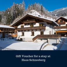 Gift voucher for stay at Haus Schneeberg