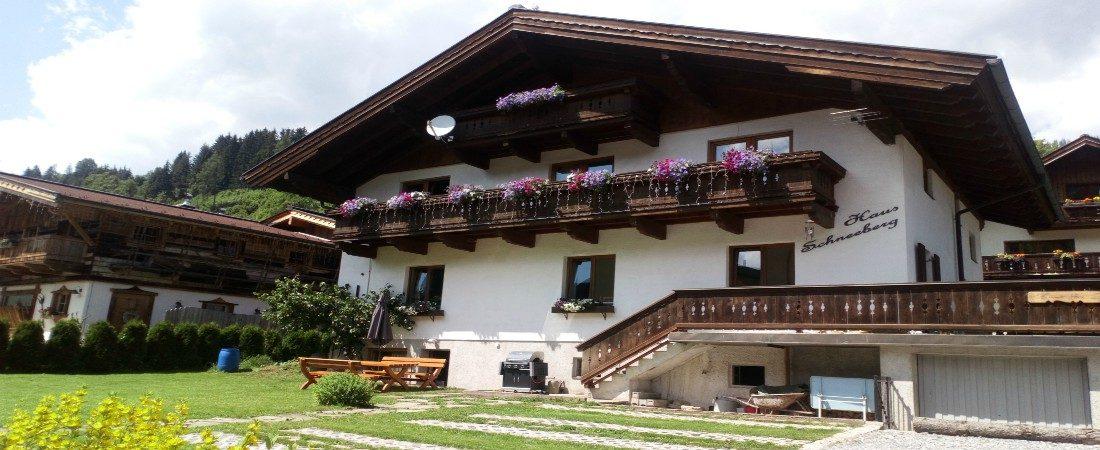 Haus Schneeberg, Hochkönig, Salzburg, Austria in Summer